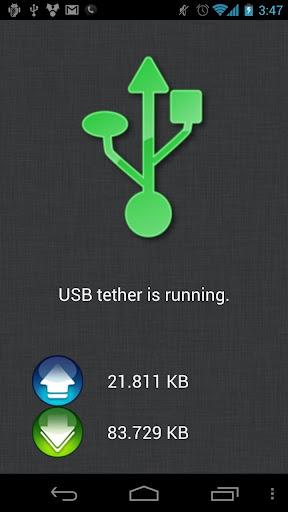ClockworkMod Tether (no root) 1.0.2.3 screenshots 1