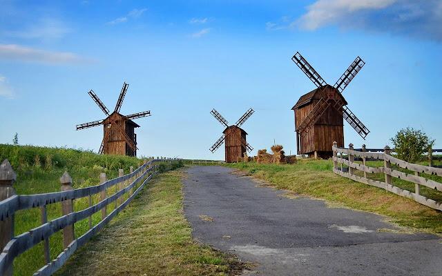 Windmill - New Tab in HD