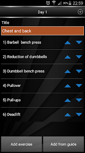Gym Book: training notebook*- screenshot thumbnail