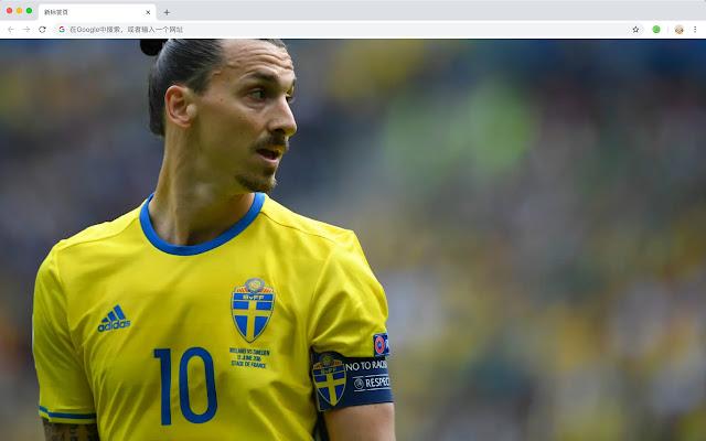 Zlatan Ibrahimovic Top Football HD Themes