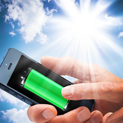 Solar battery charger joke