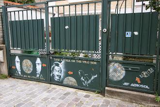 Photo: Street art - Jef Aerosol - K Bal - Paris XIIIe -Villa Daviel