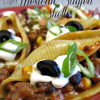 Light Mexican Stuffed Shells