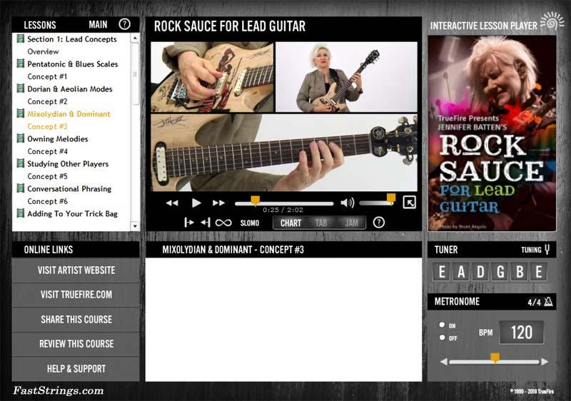 Jennifer Batten - Rock Sauce for Lead Guitar