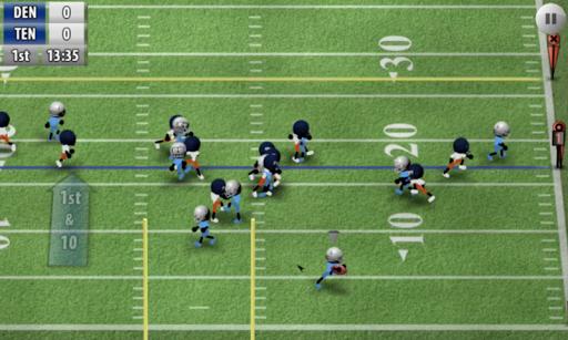 Stickman Football - The Bowl Screenshot