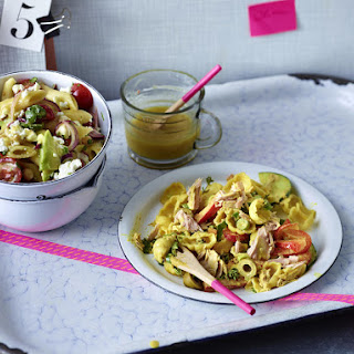 Pasta Salad with Chickpeas and Avocado Recipe