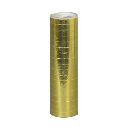 Serpentin, guld 1 st