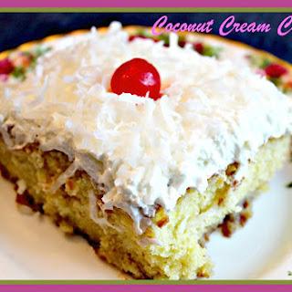 Coconut Cream Cake! Recipe