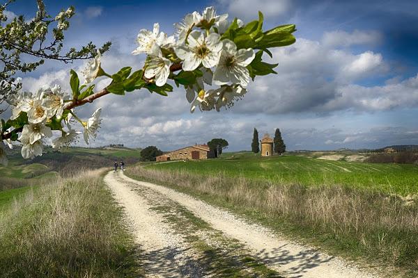 Primavera alla Cappella della Madonna di Vitaleta