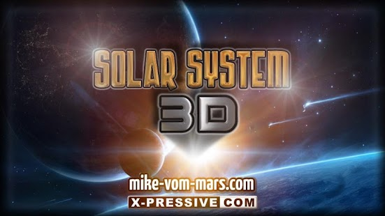 3D SOLAR SYSTEM- screenshot thumbnail
