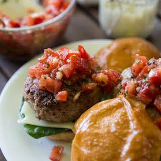 Bruschetta Turkey Burger.