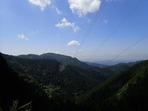 下山鉄塔から北山方面