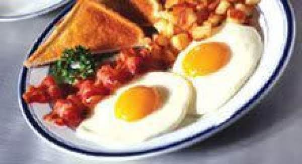 Fried Eggs And Bacon Recipe