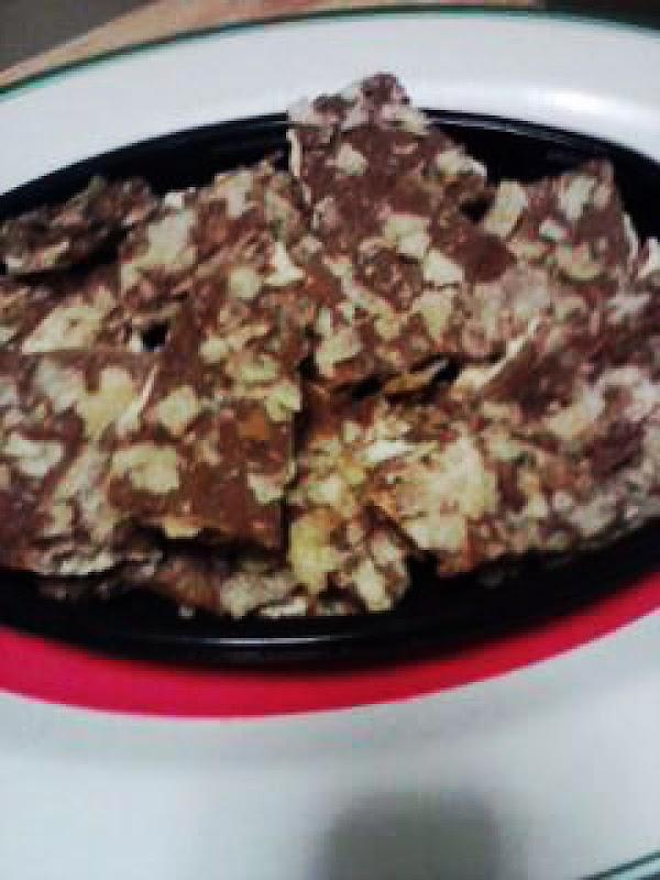 Chocolate Salty Chip Bark Recipe