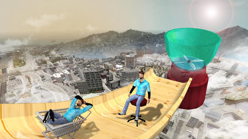 Impossible Mega Ramp Stunts 3D android2mod screenshots 3