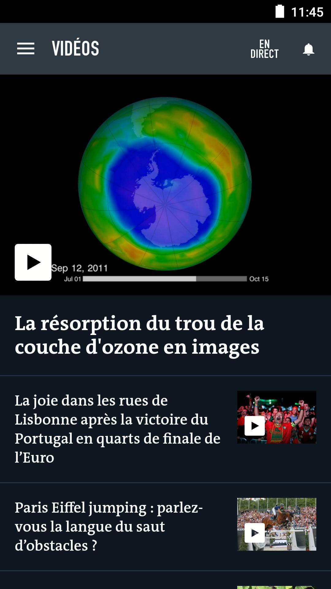 Le Monde, l'info en continu screenshot #5