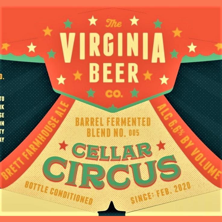 Logo of Virginia Beer Co. Cellar Circus // Blend No. 005