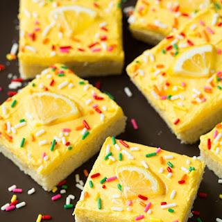 Lemon Sugar Cookie Bars Recipes