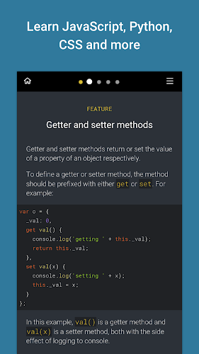 Enki: Learn better code, daily Android App Screenshot