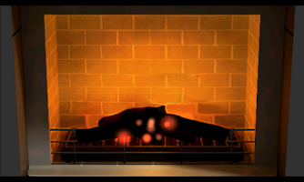 Screenshot of 3D Fireplace