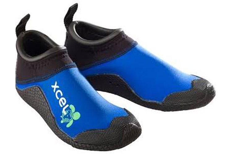 The Xcel Reef Walker Bootie, a good choice for walking in the surf.