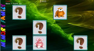 Screenshot of Memory Family