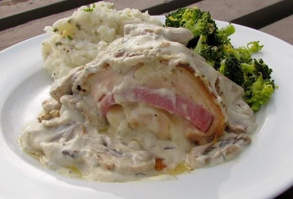 Saucy Chicken Cordon Bleu Recipe