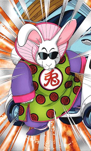 オヤブンの得意技・兎人参化