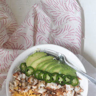 Quick and Easy Low-Carb Fish Taco Bowls.