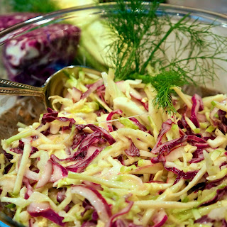 Apple Fennel Slaw With Cabbage Recipes