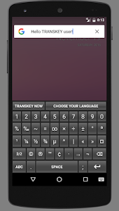 TRANSKEY - translator keyboard screenshot 5
