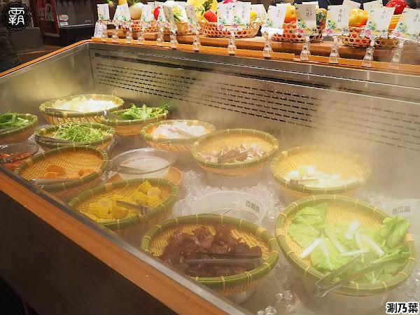 涮乃葉日式火鍋吃到飽,文心秀泰影城日式涮涮鍋吃到飽,野菜吧食材豐富有質感!