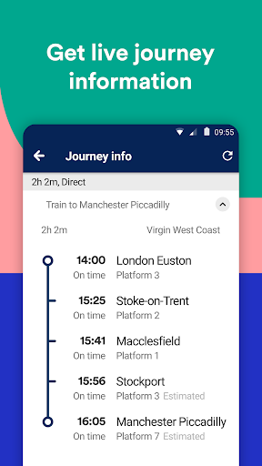 Trainline screenshot 4