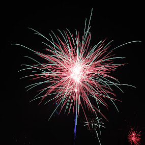 happy new year 2013 by Lou Sanada - Abstract Fire & Fireworks