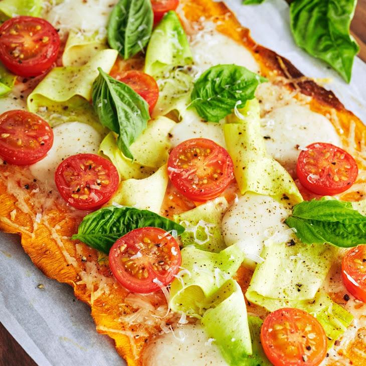 Summer Vegetable Tart with Sweet Potato Crust Recipe
