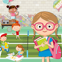 Pretend After School Life: Fun Town Learning Game icon