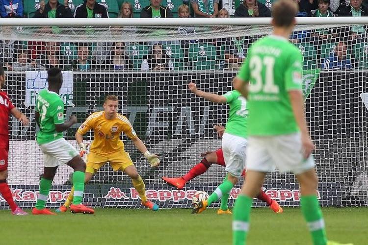 Le Bayer Leverkusen battu, rate le coche