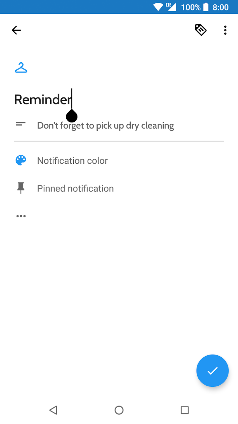 Collateral - Create Notifications Screenshot 1