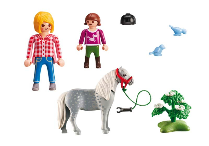 Contenido de Playmobil® 6950 Paseo con Poni