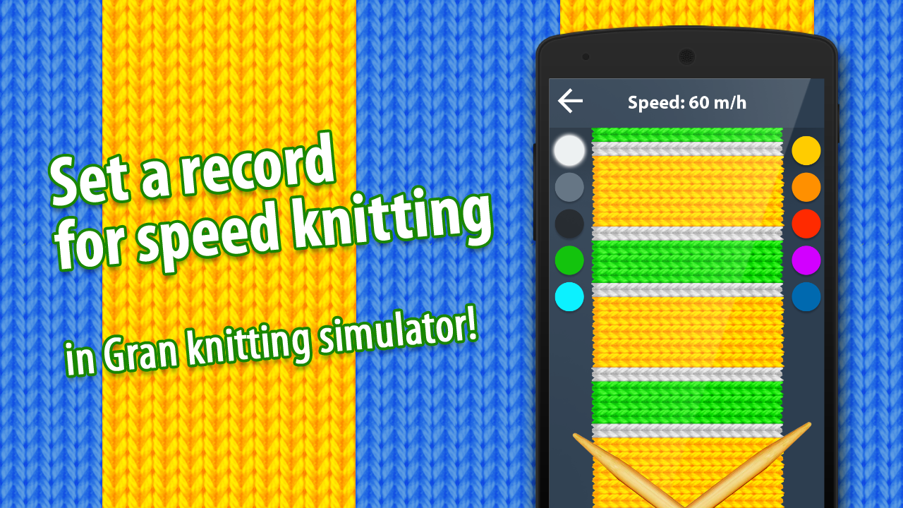 Gran Knit Simulator- screenshot