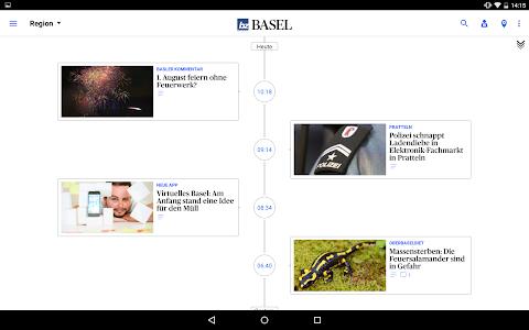 bz Basel News screenshot 7