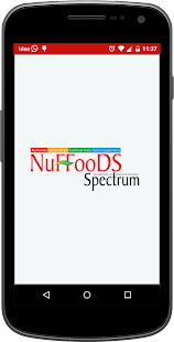 NuFFooDS Spectrum - náhled