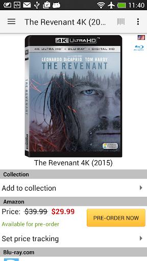 My Movies by Blu-ray.com 1.9.3 screenshots 2