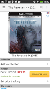 My Movies by Blu-ray.com- screenshot thumbnail