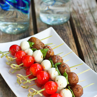 Caprese Potato Skewers Recipe