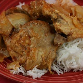 CrockPot Chicken Makhani (Indian Butter Chicken).