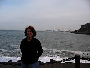 Photo: Moni with cityscape