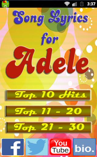 Someone Like You for ADELE