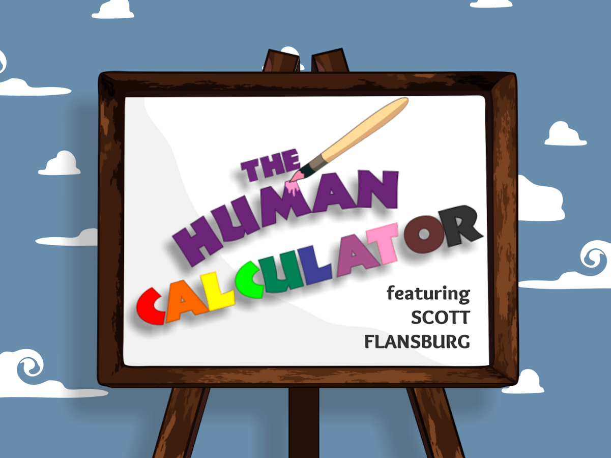 The Human Calculator- screenshot