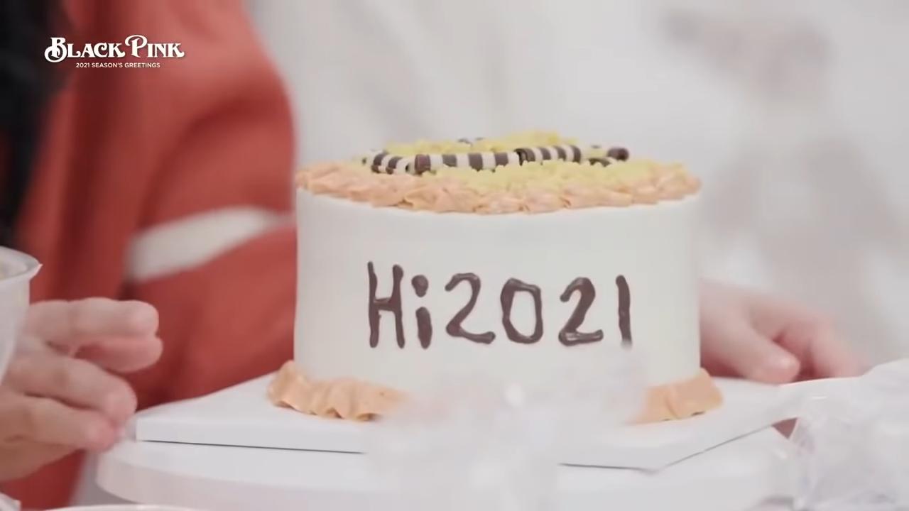 (eng sub)BLACKPINK SEASONS GREETINGS 2021 PART 2 full video 12-0 screenshot